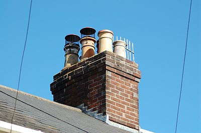 Orpington chimney stack by James the chimney sweep