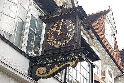 The Pantiles clock Tunbridge Wells by James the chimney sweep
